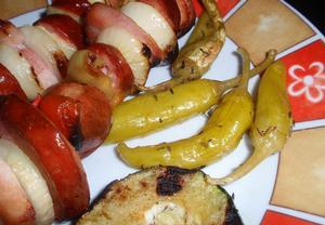 Nakládané papriky, kozí rohy, feferony  nejen na gril