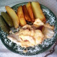 Gratinované kuřecí plátky se šunkou recept