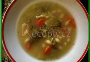 Brokolicová polévka se zeleninou a těstovinami