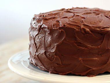 Fantastický čokoládovo  karamelový sváteční dort