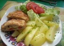 Kotlety pečené na kysaném zelí recept