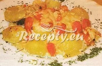 Dušené jelení řízky s paprikami recept  zvěřina