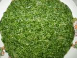 Špenát sekaný a nejchutnější recept