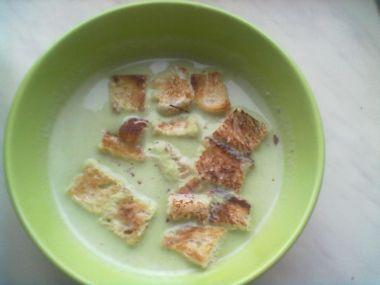 Hráškový krém  polévka