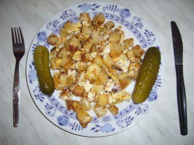 Houskové knedlíky s vejci