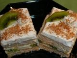 Kostky s kiwi recept
