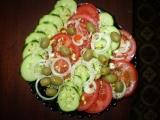 Zeleninový salát s cibulí recept