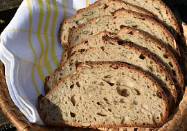 Pšenično-žitný chleba se semínky recept