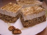 Ořechovo-medový řez recept