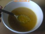 Krém ze sladkých brambor a červené čočky recept