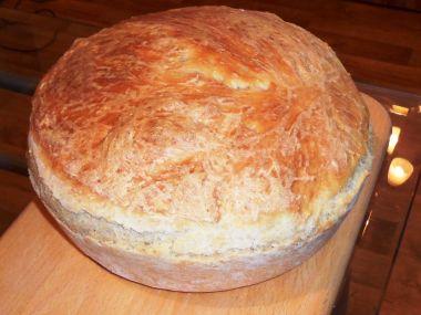 Domácí chléb jako z pekařství