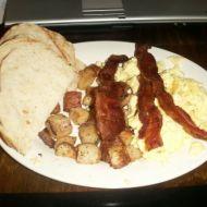 Rychlá americká snídaně recept