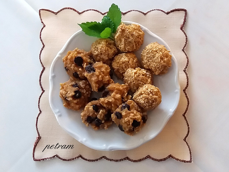 Jáhlové sušenky s gofiem recept
