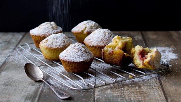 Pečené koblihové muffiny
