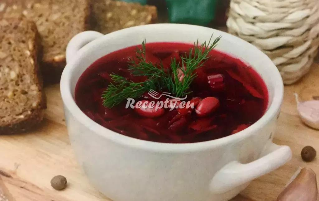 Domácí boršč recept  slavnostní pokrmy