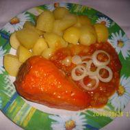 Královské plněné papriky recept
