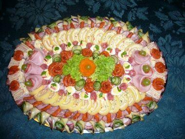 Sýrová roláda s domácí šunkovou pěnou