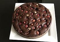 Kakaový koláč s ovocem recept