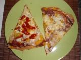 Pizza na listovém těstě recept