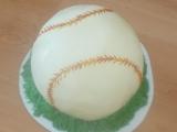 Dort basebalový míč recept