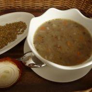 Čočková polévka s mraženou zeleninou recept