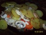 Kuřecí nudličky v bramborách recept