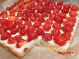 Jahodové řezy s vanilkovým krémem recept