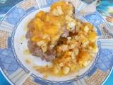 Krkovička s meruňkovou směskou recept