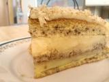 Ořechovo-vanilkový dort recept