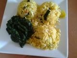 Zeleninové rizoto se špenátem recept