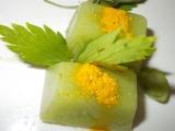 Kostky s brokolicí do naší kuchyně / s kořením nebo s bylinkami ...