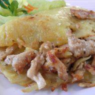 Marinovaná kuřecí směs v bramborové placce recept