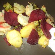 Vegetariánská pečená zelenina s bramborem recept