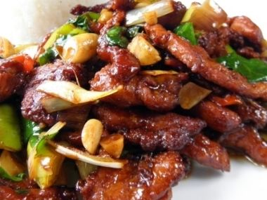 Kuře Kung Pao *