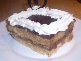 Jablečné řezy s pudinkovým krémem a čokoládou recept ...