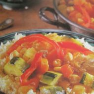 Marocký kuskus s kuřetem recept
