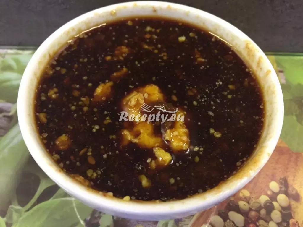 Sójová marináda recept  marinády na maso