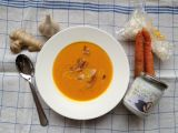 Rychlá mrkvová polévka s domácím kokosovým mlékem recept ...