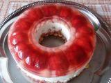 Nepečený jahodovo-meruňkový dort recept