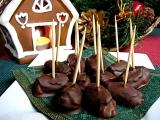Silvestrovské/party plněné švestky v čokoládě recept