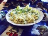 Pangas s květákem a sýrem, jako mozeček recept