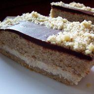 Ořechový koláč s medovým krémem recept