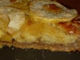Jablečný koláč s marcipánem recept