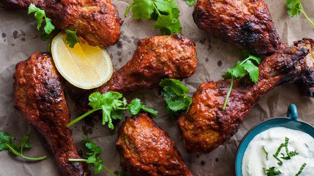 Tandoori kuře pečené v troubě