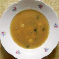 Houbová polévka nejen pro muže recept