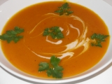 Thajská dýňová polévka recept