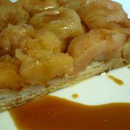 Teplý jablkový moučník recept