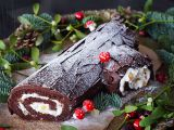 Čokoládová roláda se zázvorem (Bûche de Noël) recept ...