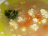Pikantní dýňová polévka s kukuřicí recept