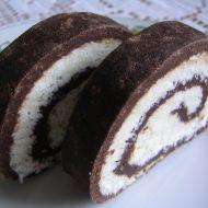 Nepečená kokosová roláda recept